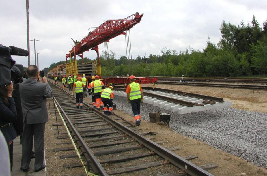 """Projekto """"Rail Baltic"""" darbus Lietuvos teritorijoje planuojama baigti iki 2015-ų metų"""