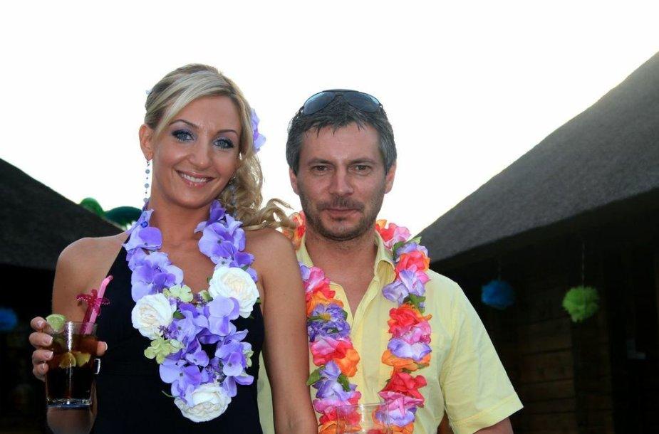 Gerda Stiklickienė ir Andrius Žemaitis