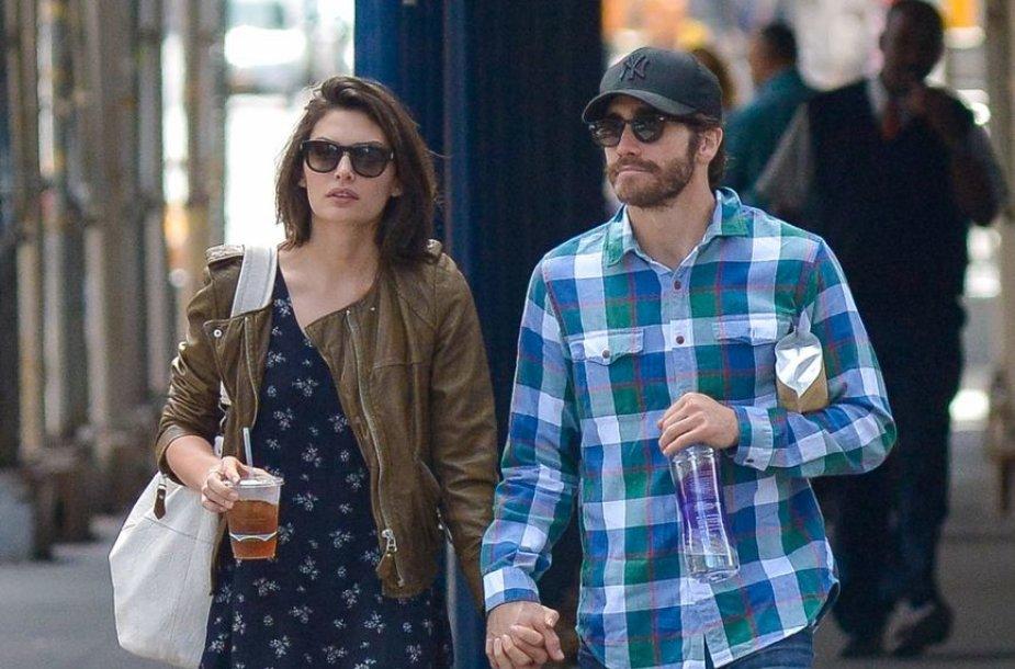 Jake'as Gyllenhaalas ir Alyssa Miller