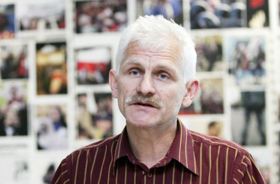A.Beliackis tapo dar vienu Baltarusijos režimo įkaitu.