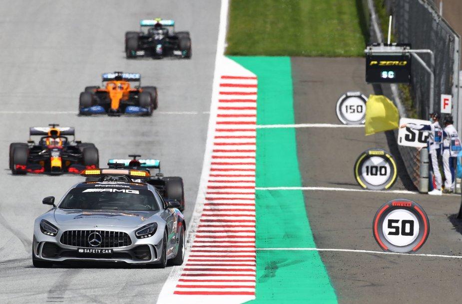 """""""Formulė 1"""" Austrijoje"""