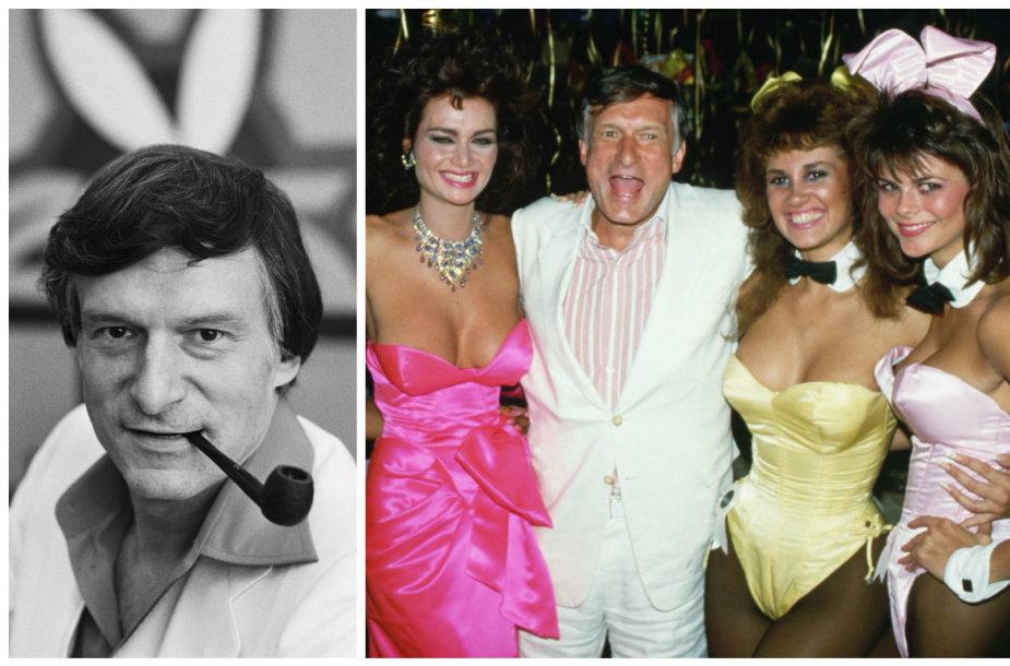 """""""Playboy"""" įkūrėjui Hugh Hefneriui – 90 metų"""