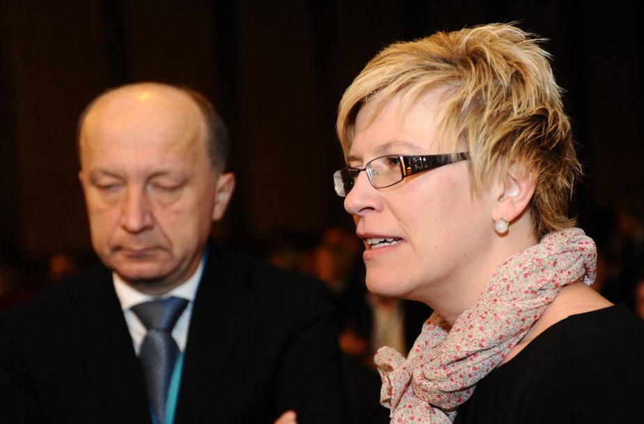Andrius Kubilius ir Ingrida Šimonytė