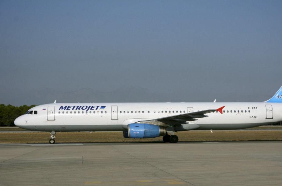 Sinajaus pusiasalyje sudužo Rusijos keleivinis lėktuvas su 224 keleiviais