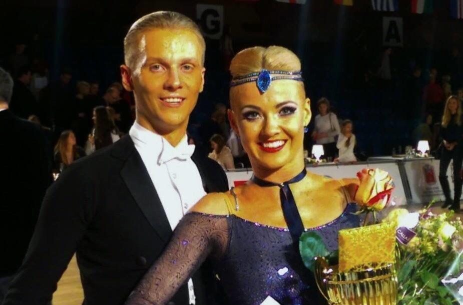 Evaldas Sodeika ir Ieva Žukauskaitė Pasaulio Taurėje