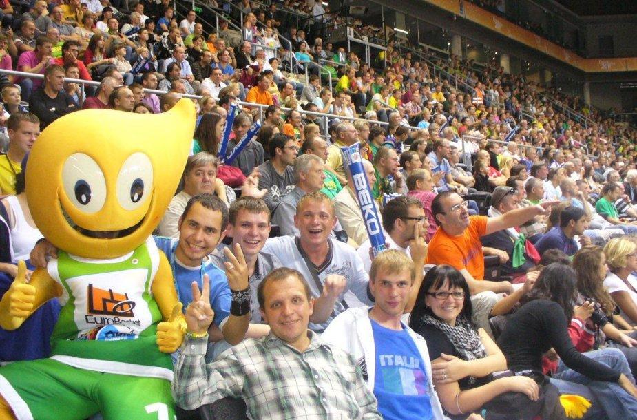 Europos krepšinio čempionatas Lietuvoje