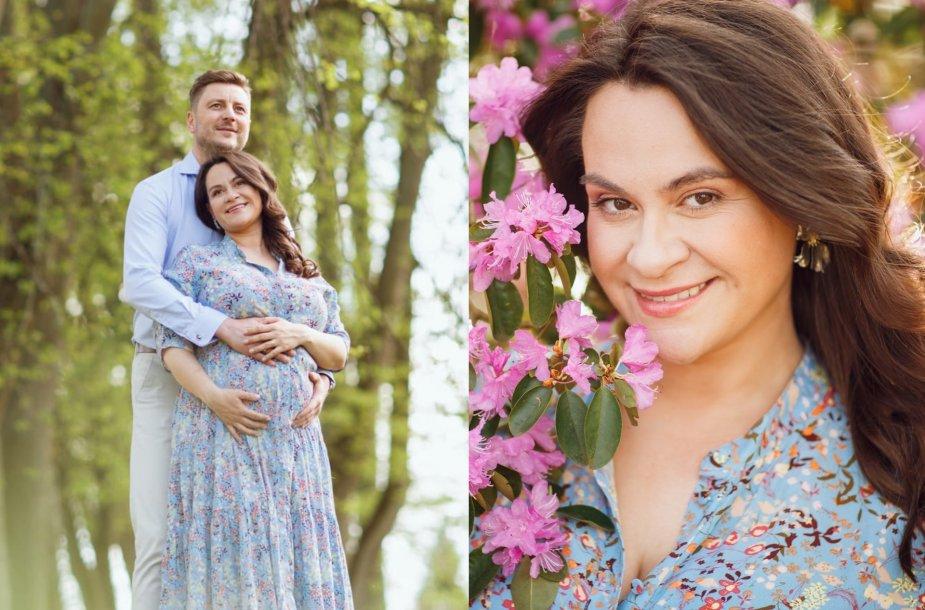 Evelina Sašenko ir Giedrius Statulevičius