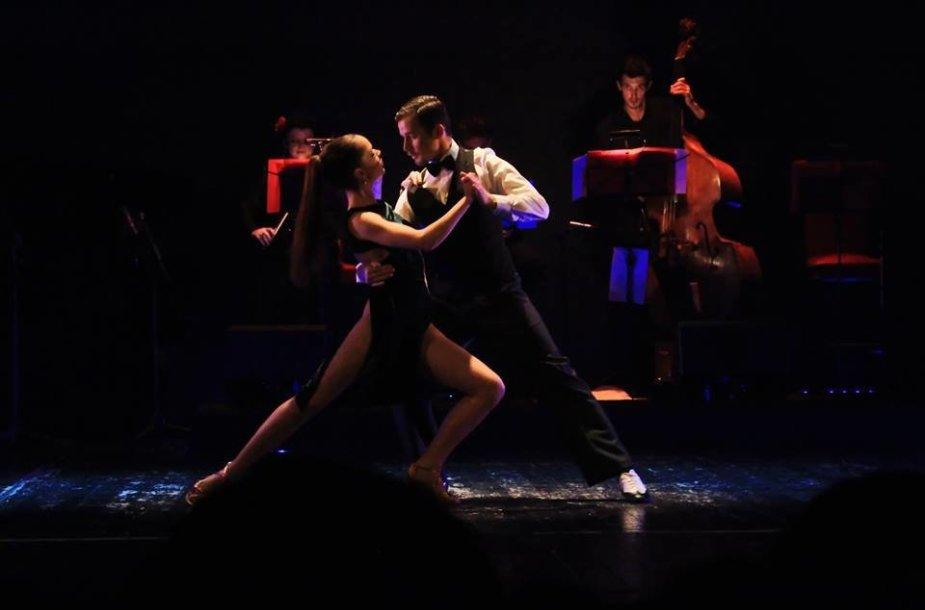 Argentinietiško tango šokėjai