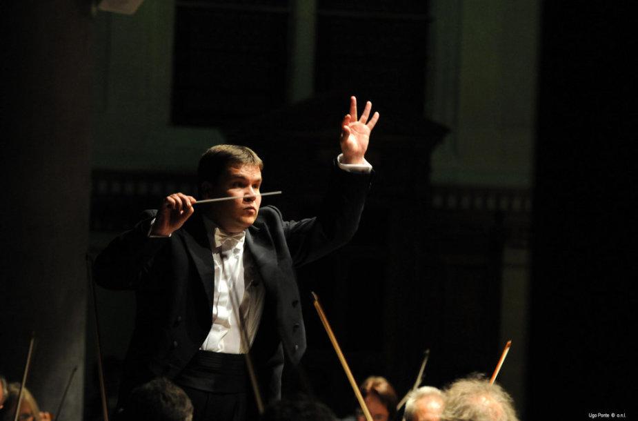 Latvis dirigentas Andris Poga