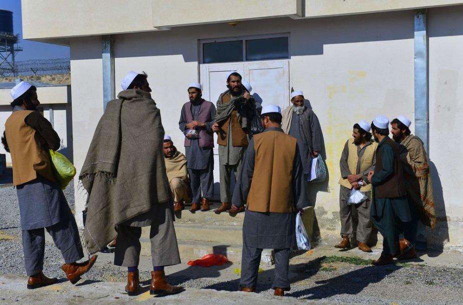 Buvę talibano kovotojai