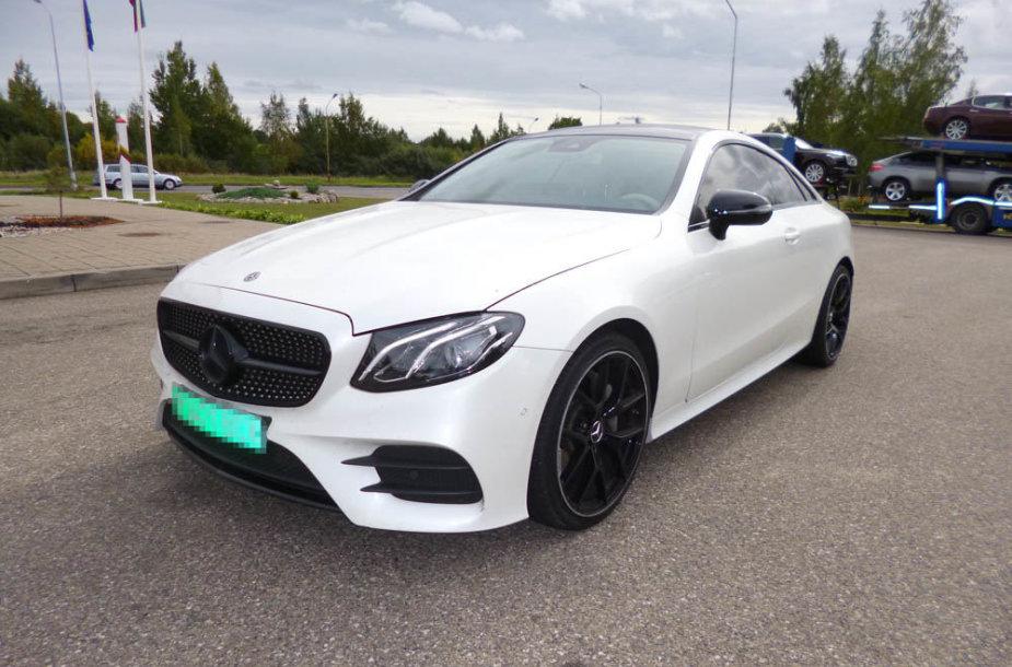 "Sulaikytas vogtas ""Mercedes-Benz Daimler AG E200"""