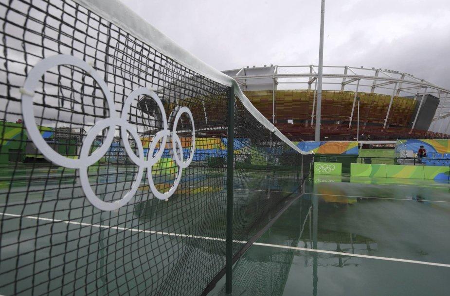 Olimpiniai Rio de Žaneiro teniso kortai