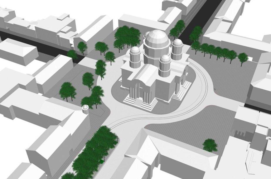 Šv. Arkangelo Mykolo (Įgulos) bažnyčios atnaujinimui bus skirta europinė parama