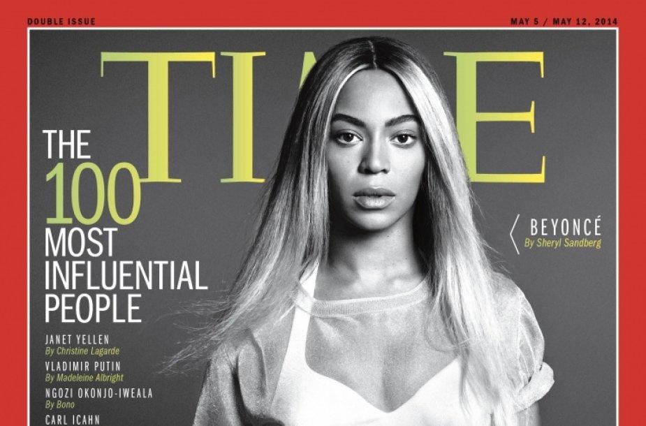 """Beyonce ant žurnalo """"Time"""" viršelio"""