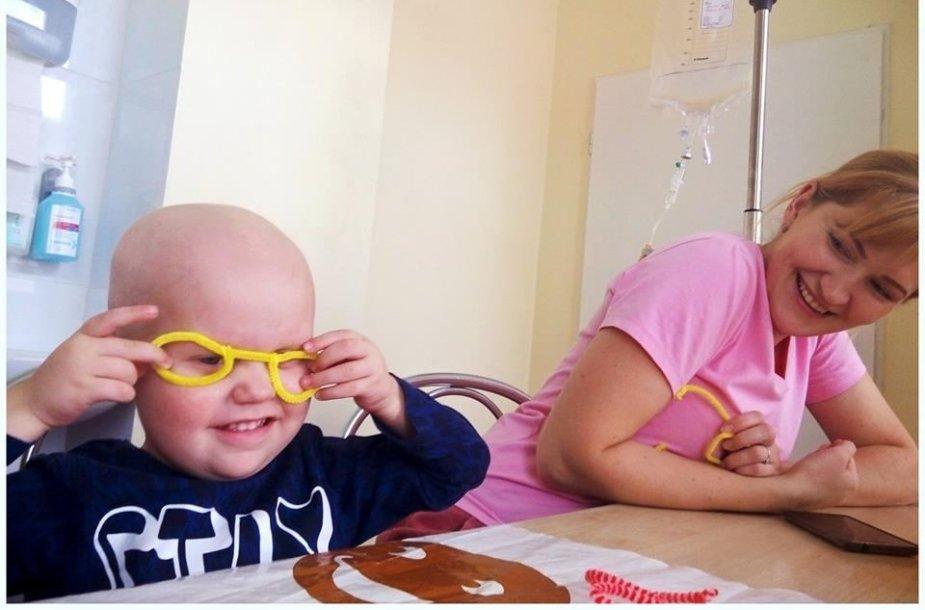 Onkologinėmis ligomis sergantys vaikai