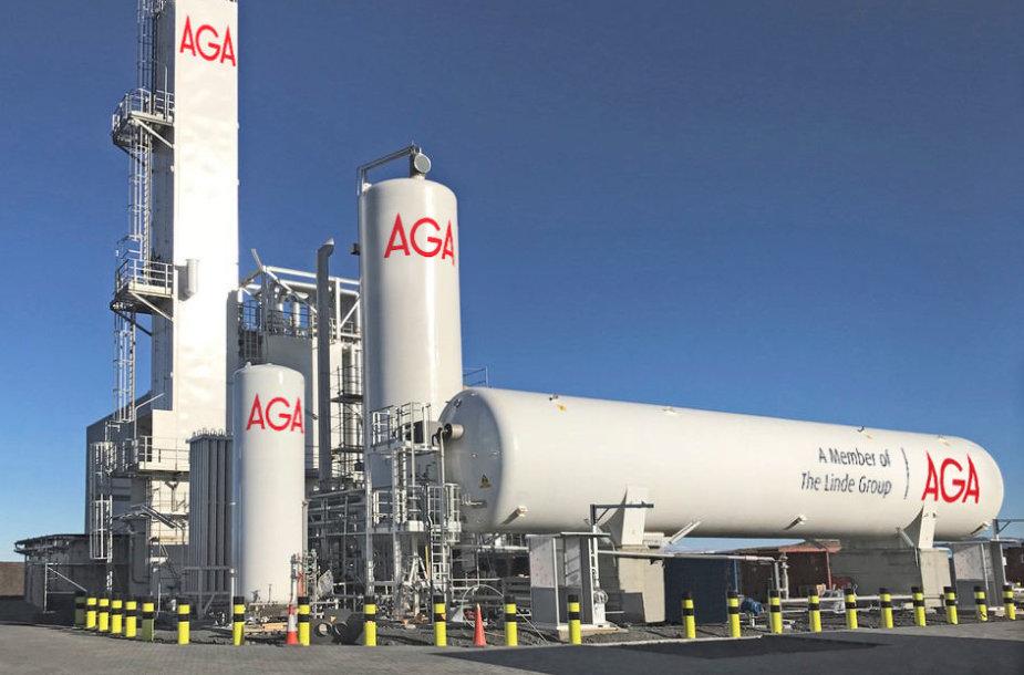 Gautas leidimas statyti deguonies ir azoto gamyklą Kėdainių LEZ
