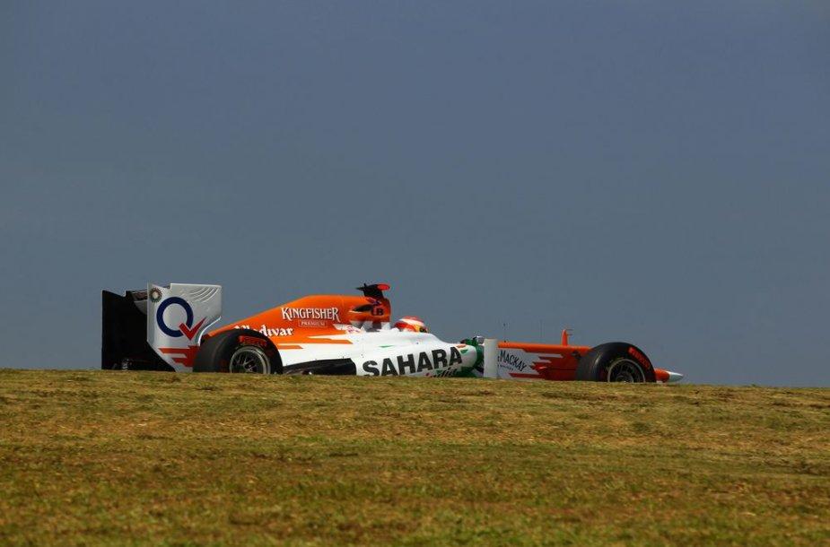 """Force India"" bolidas"