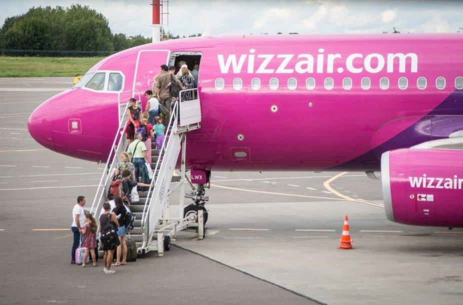 """""""Wizz Air"""" pradėjo skrydžius į Nicą"""