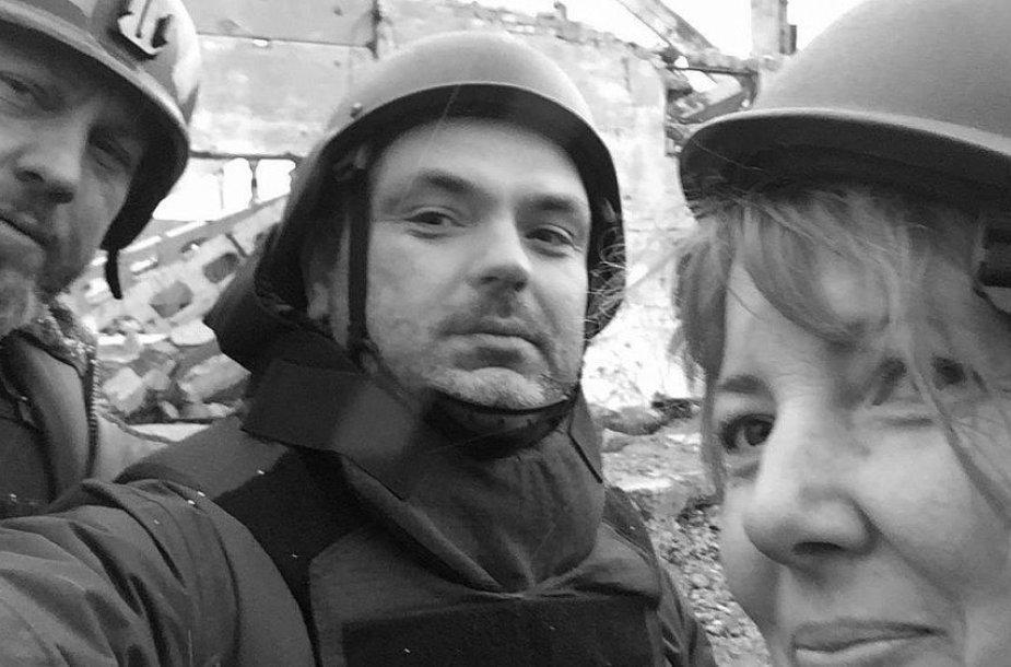 E.Špokas apie žurnalisto darbą pavojingose vietose: kare taisyklių nėra