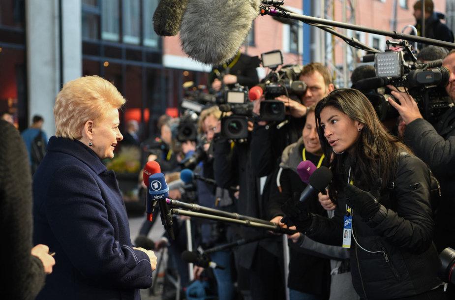 Dalia Grybauskaitė dalyvauja ES vadovų susitikime