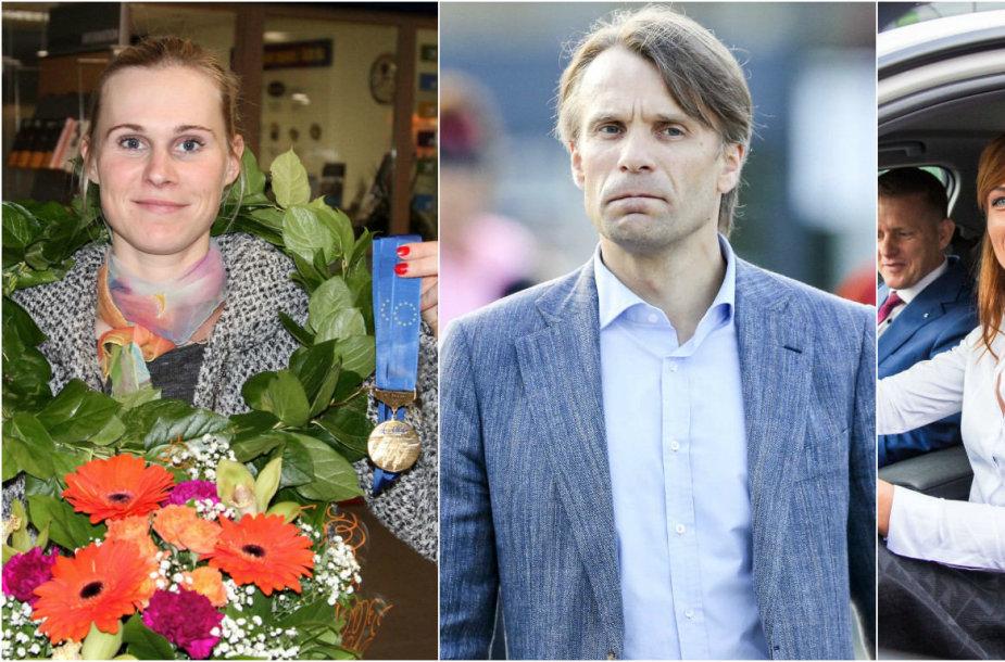 Aušrinė Trebaitė, Edis Urbanavičius ir Donata Karalienė
