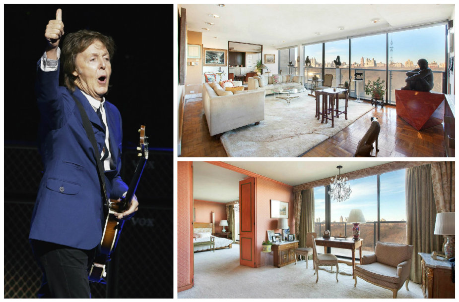 Paulas McCartney nusipirko prašmatnius apartamentus Niujorko dangoraižyje