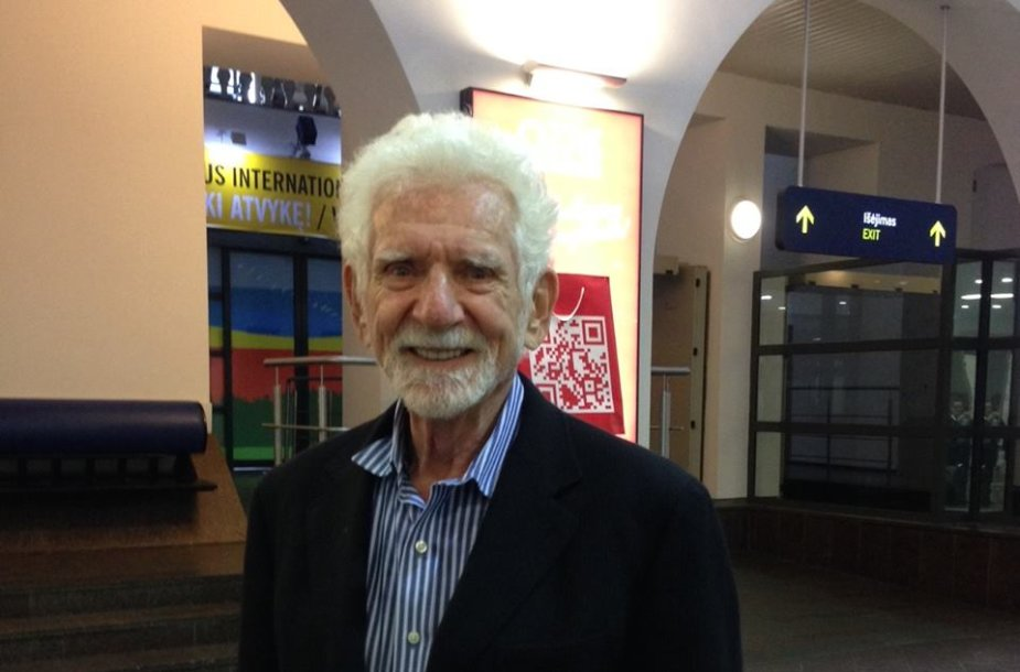 Martinas Cooperis atvyko į Lietuvą