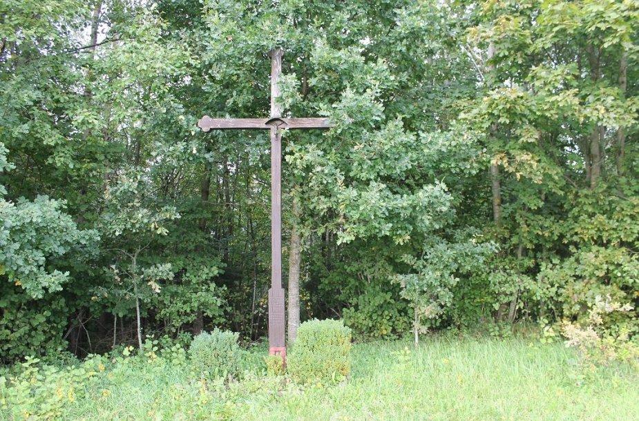 Eivydų partizanų kryžius Plungės rajone