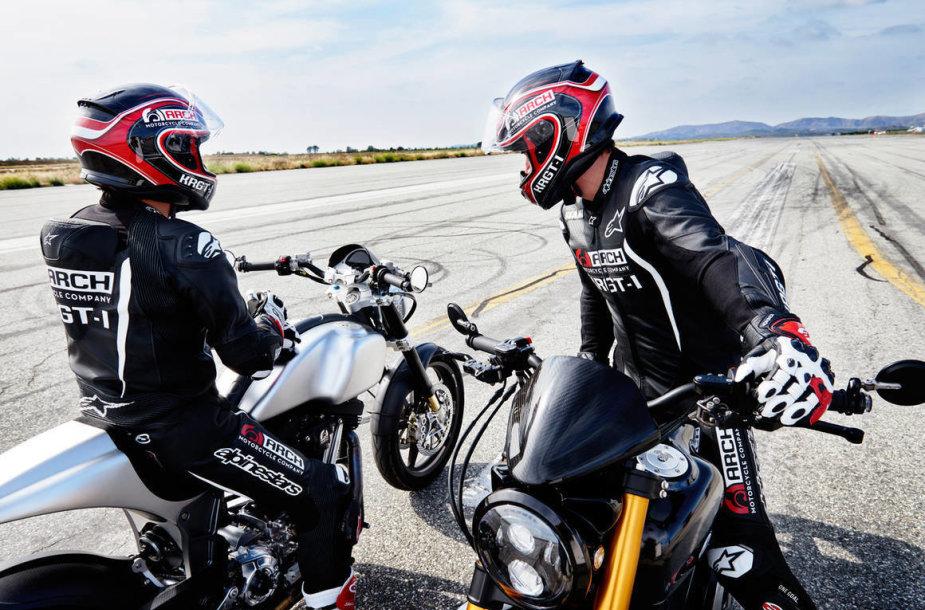Keanu Reeves aistra - motociklas KRGT-1