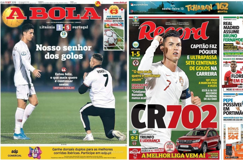Portugalijos sporto žiniasklaida