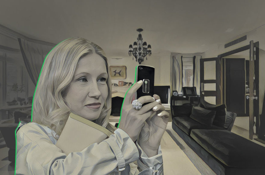 Vladimiro Romanovo dukterėčia Julija Gončaruk problemų su teisėsauga gali turėti ir dėl apartamentų Londono centre