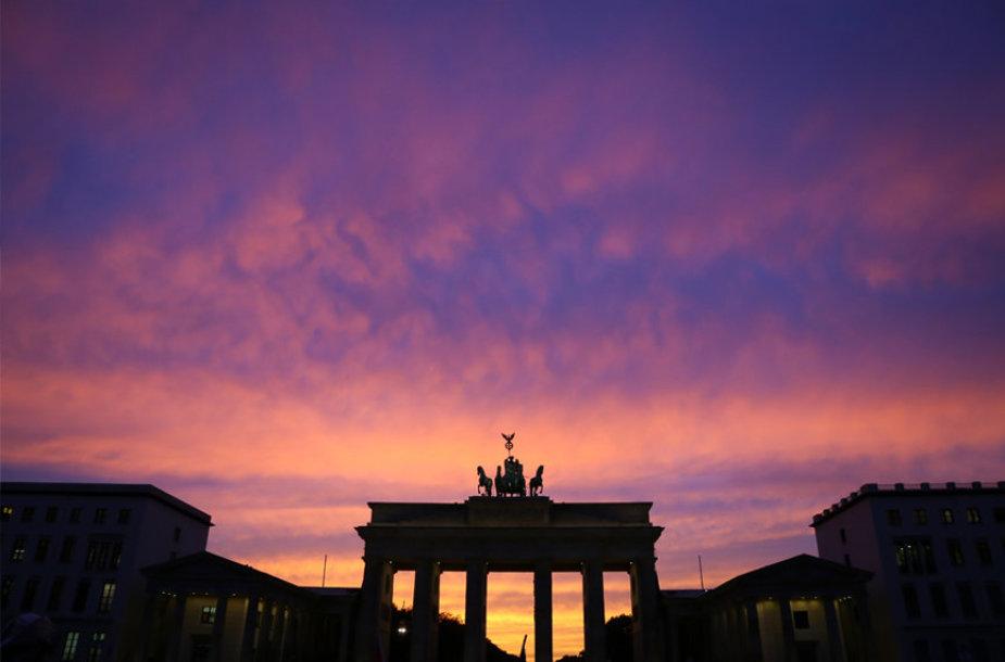 Berlyno Brandenburgo vartai