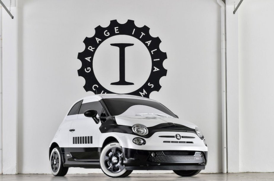 """Fiat 500e Star Wars"""