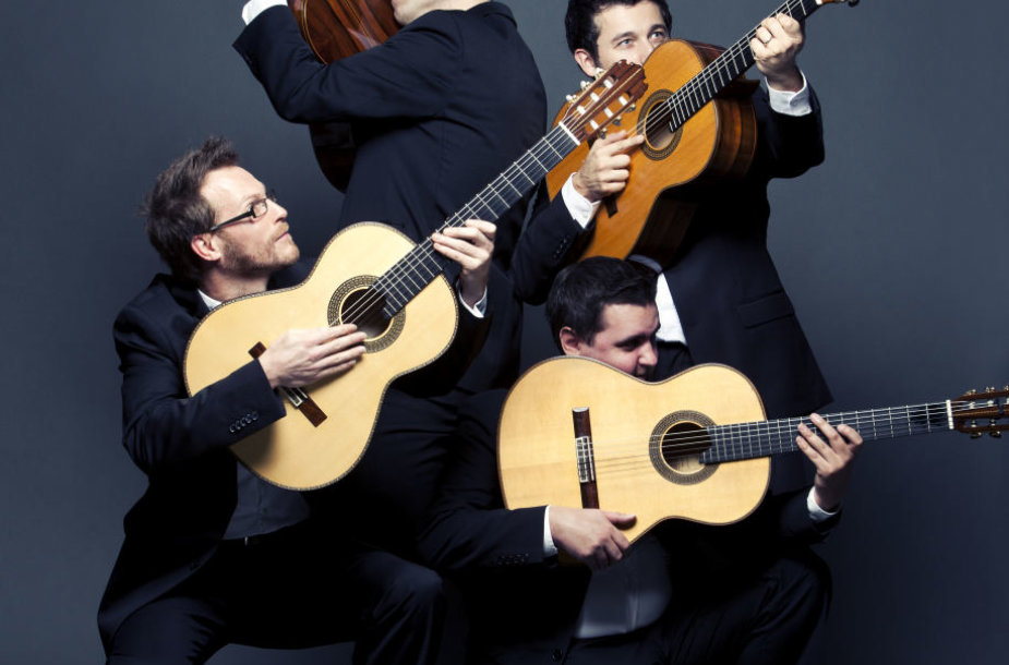 """""""Baltijos gitarų kvartetas"""""""