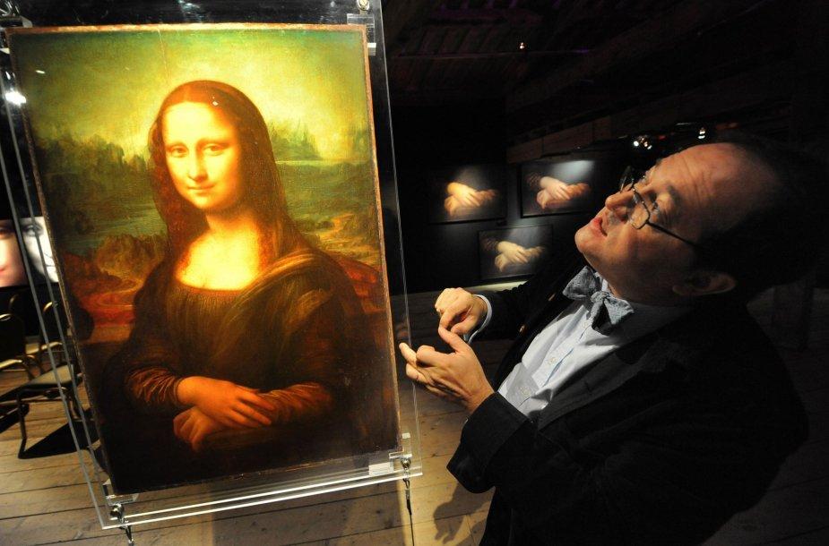 """Pascalis Cotte'as ir """"Mona Lisa"""""""