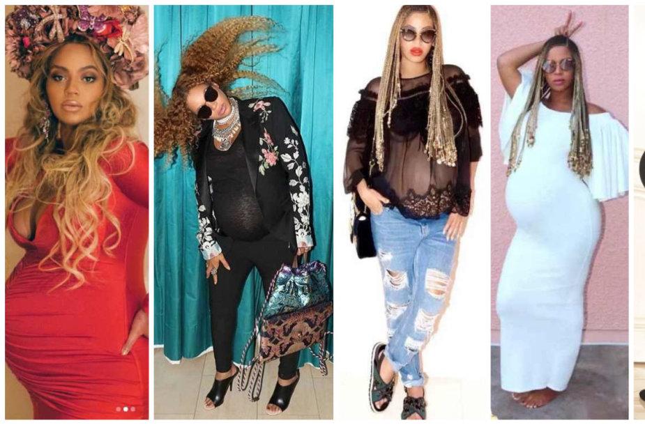 Beyonce nėštumo stilius