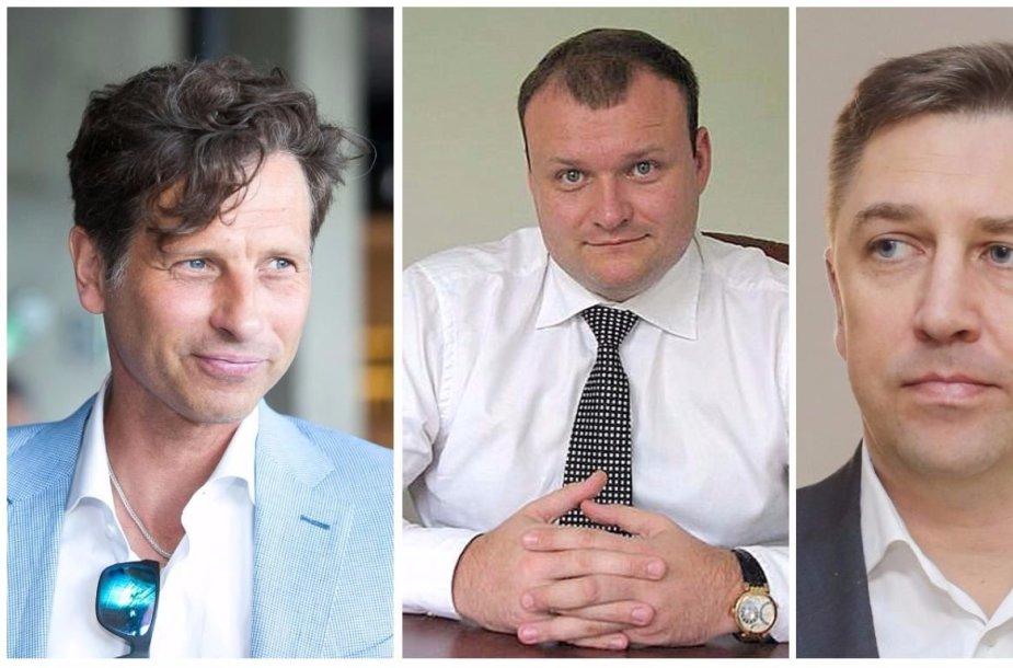 Dariaus Mockaus, Irmanto Kubiliaus ir Andriaus Janukonio verslai susivienijo siekdami stambaus Vilniaus savivaldybės užsakymo