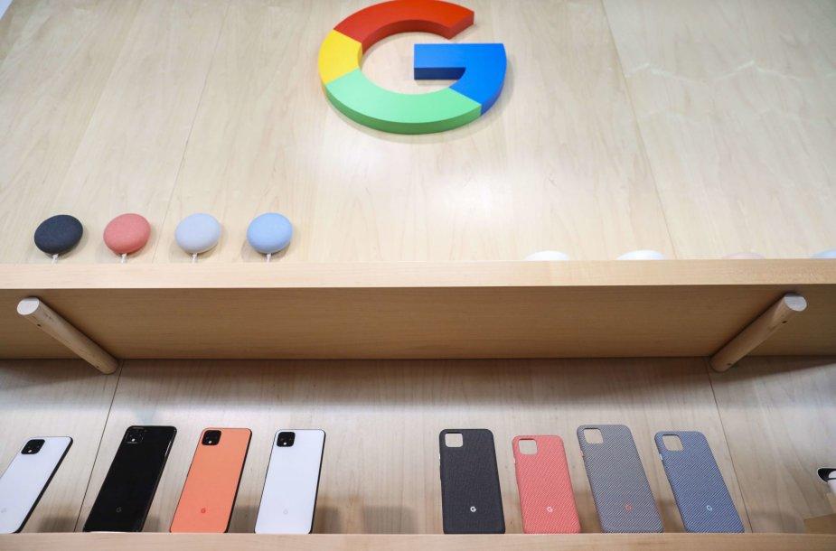 """Google"" pristatė išmanųjį telefoną ""Pixel 4"""