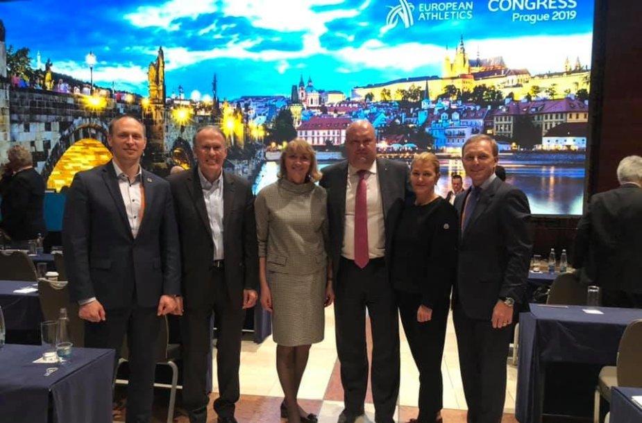 Baltijos šalių lengvosios atletikos federacijų vadovai