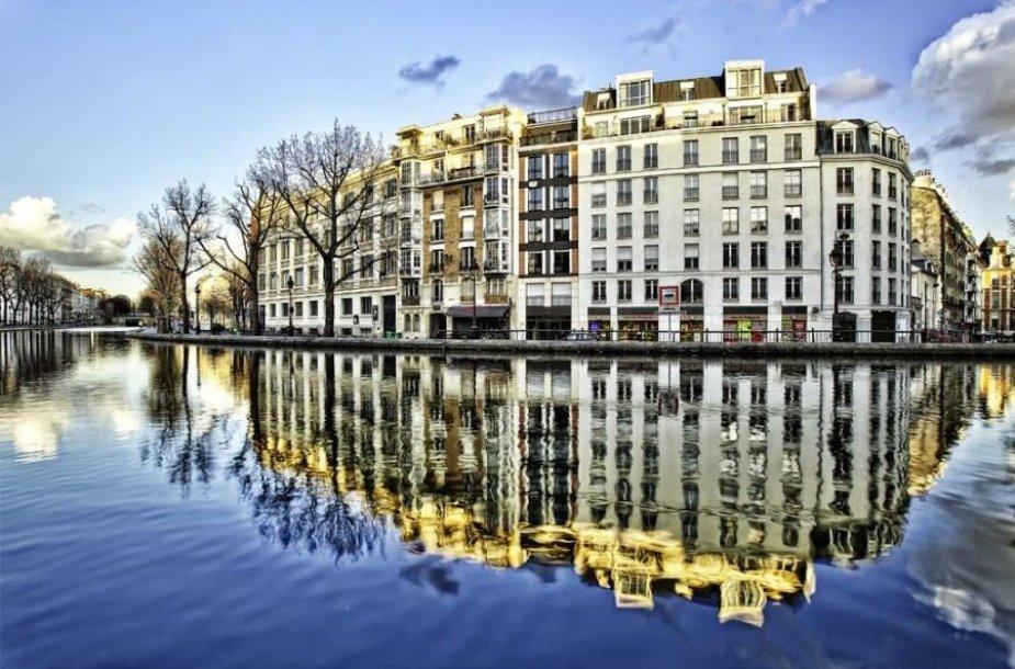 Sen Marteno kanalas, Paryžius