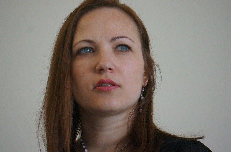 Rašytoja Daina Opolskaitė