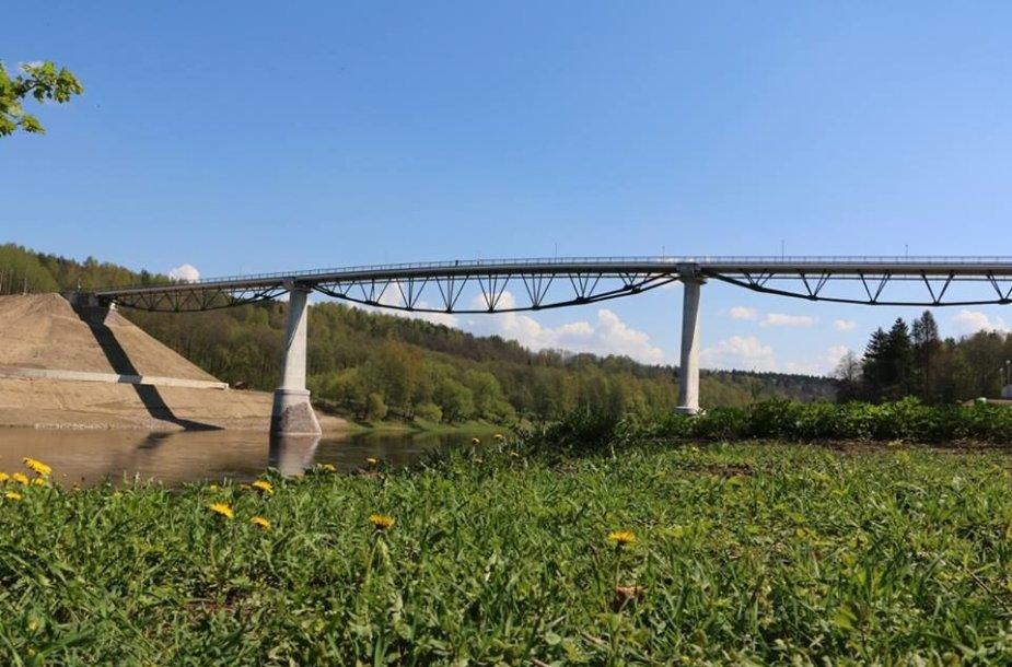 """Alytaus """"Baltosios rožės"""" tiltas"""