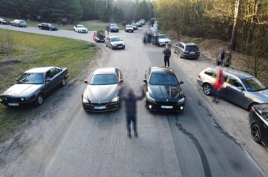 Traukos lenktynės Vilniuje