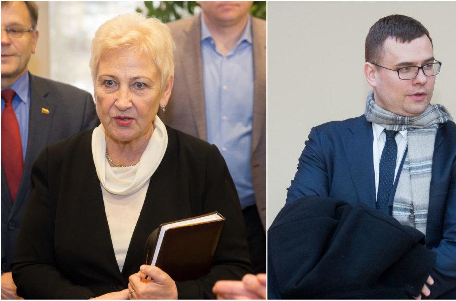 Irena Degutienė ir Laurynas Kasčiūnas