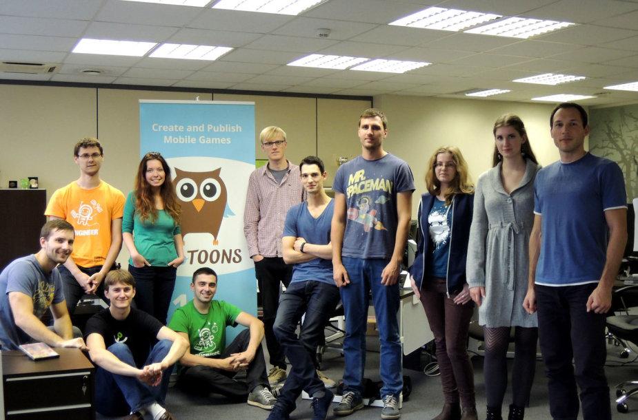 """""""TutoToons"""" laimėjo geriausio startuolio konkursą konferencijoje SV2B"""