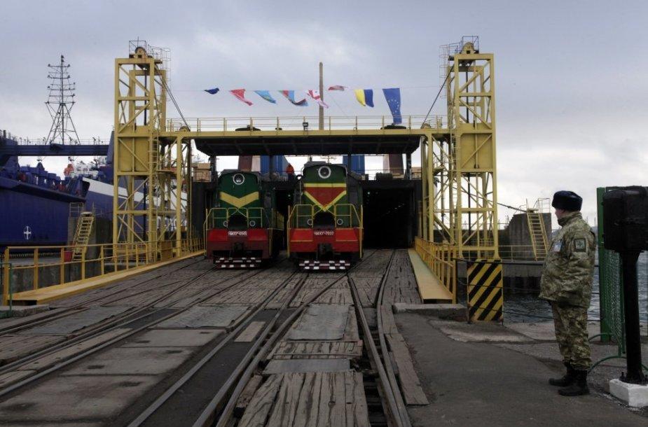 Geležinkelis Ukrainoje