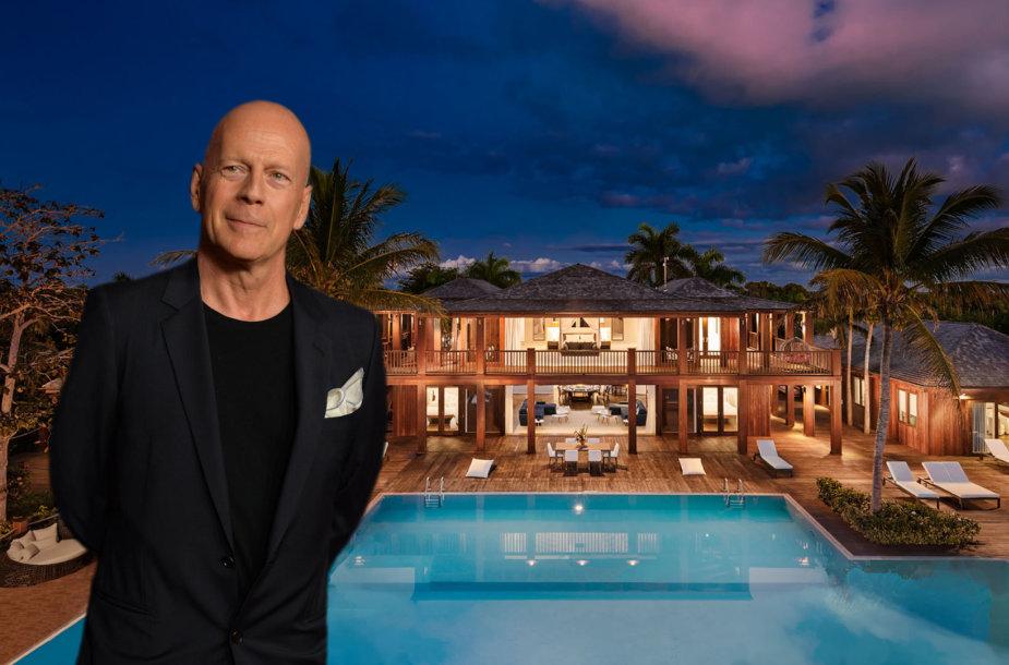 Bruce'as Willisas už 33 mln. JAV dolerių parduoda namą