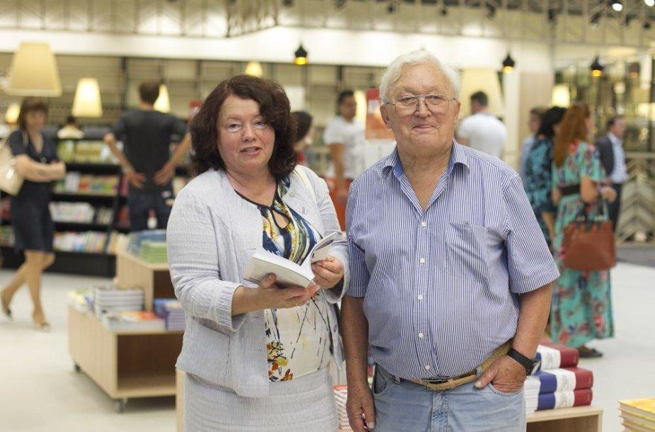 Algimantas Čekuolis su žmona