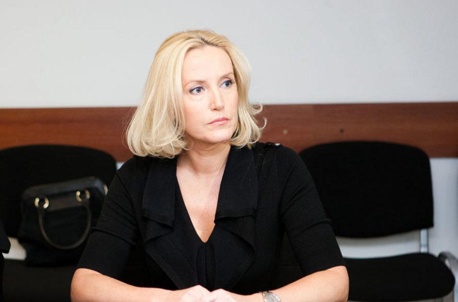 Živilė  Pinskuvienė teisme