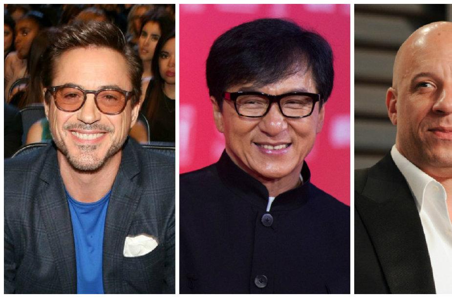 Daugiausia uždirbantys pasaulio aktoriai